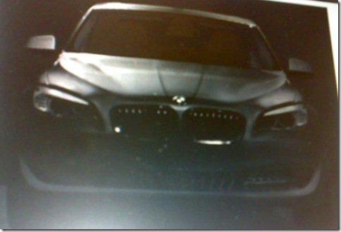 Fotos espiãs do novo BMW série 5