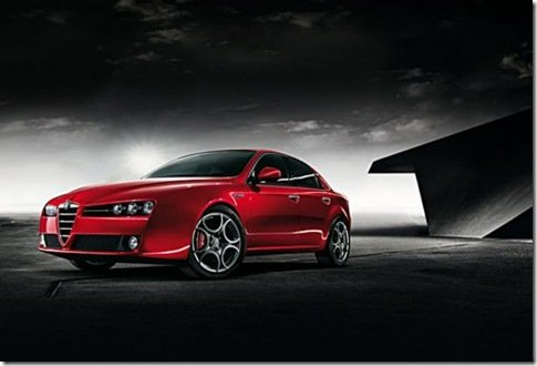 Alfa Romeo apresenta nova 159