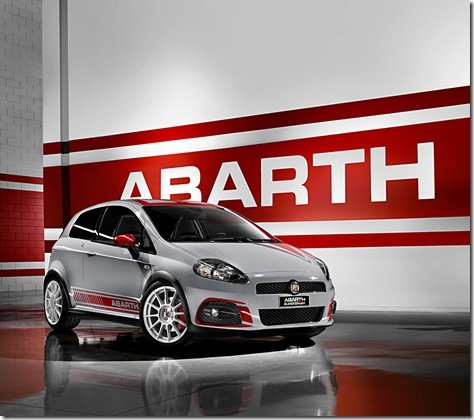 Genebra 2009-Fiat Punto Abarth SuperSport