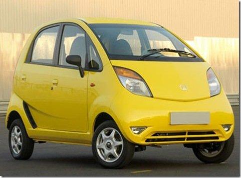 Tata Nano começará a ser vendido na Índia em março