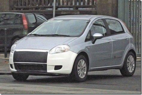 Fiat Grande Punto receberá reestilização na Europa