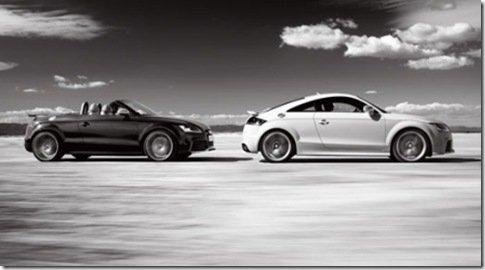 Primeiras fotos do Audi TT-RS