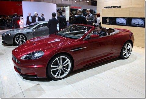 Direto de Genebra – Aston Martin  DBS Volante