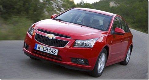 Chevrolet Cruze chegará em Maio na europa, e terá versão bicombustível