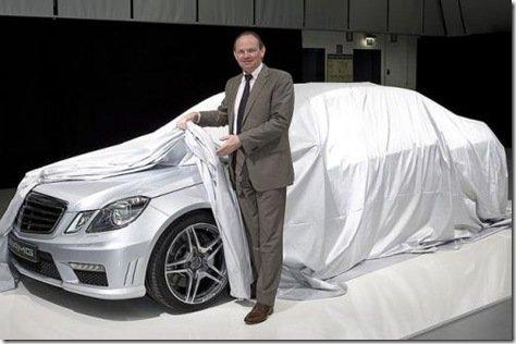 Primeira imagem do novo E63 AMG