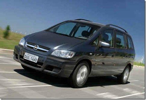 Chevrolet Zafira já é vendida com o novo motor 2.0 de 140 cavalos