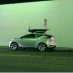 Conceito misterioso da Hyundai flagrado sem proteções
