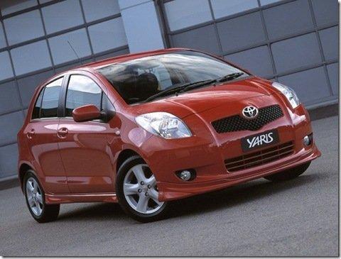 Toyota planeja criar um híbrido baseado no Yaris