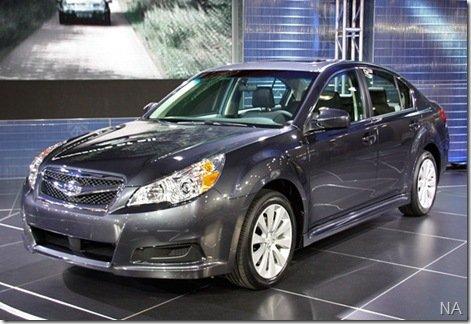 Novidades da Subaru apresentadas no salão de Nova Iorque