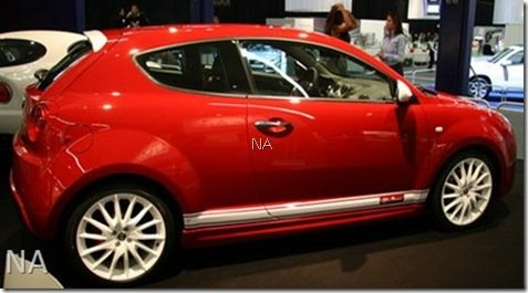 Alfa Romeo MiTo Veloce é mostrado na Holanda