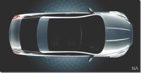 O primeiro teaser do Jaguar XJ