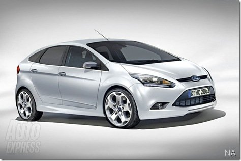 Projeção do Novo Ford Focus
