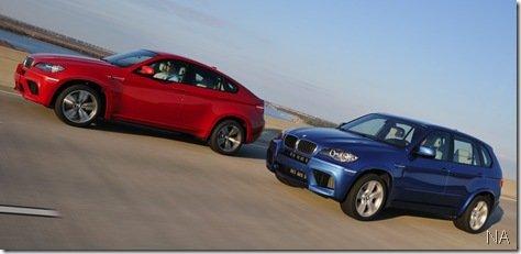 BMW divulga imagens oficiais dos X5 e X6 M