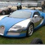 Imagens do Veyron Centenaire ao vivo