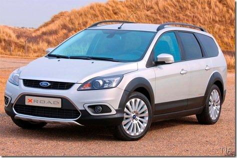 Ford lança na Holanda Focus X-Road