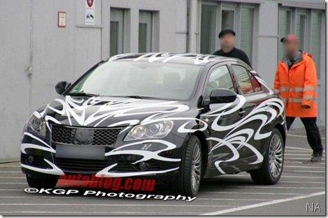 Suzuki Kizashi será lançado em 2009, mas não no Salão de Nova Iorque