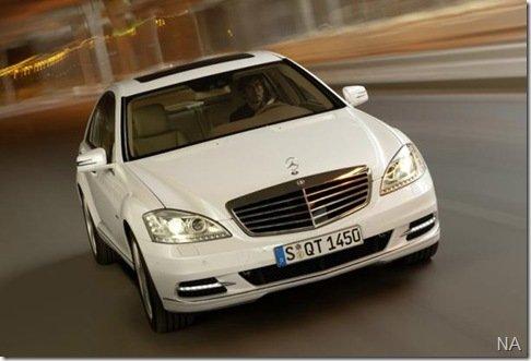 Mercedes renova Classe S