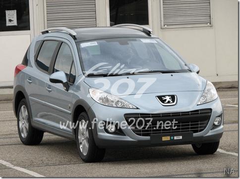 Segredo-Peugeot 207 será reestilizado na Europa