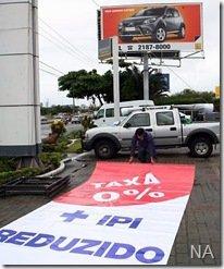 Fim da redução do IPI deve fazer as vendas de usados aquecer