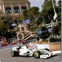 Jenson Button será pole em Mônaco