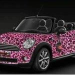 Kate Perry inspira edição limitada do Mini Cooper