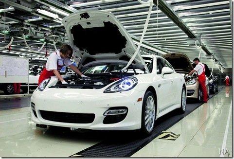 Porsche Panamera começa a ser produzido