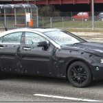 Novos flagras da nova geração da Mercedes CLS