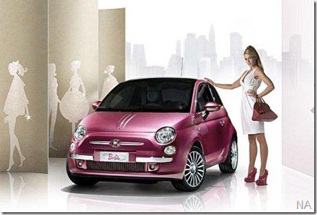 Fiat 500 Barbie por… 100 mil euros!