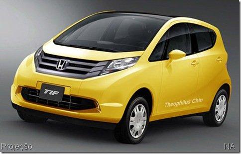Honda trabalha em compacto para a Índia