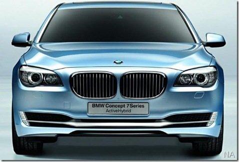 BMW mostrará protótipo híbrido em Frankfurt