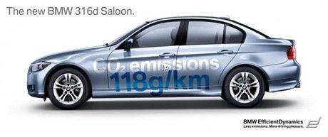 BMW 316d, o carro mais eficiente da Série 3