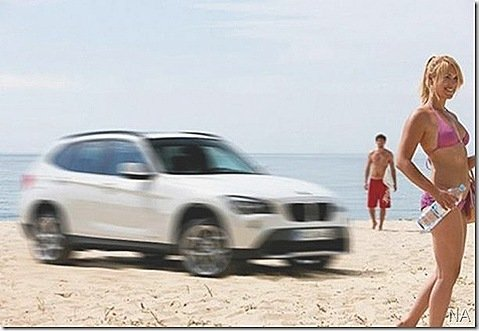 BMW mostra teaser do crossover X1
