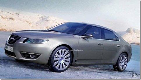 Primeiras imagens do novo Saab 9-5 2010