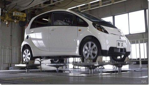 Mitsubishi revela versão final do i-MiEV