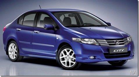 Novo sedã da Honda, City, chega ao mercado brasileiro em meados do mês que vem