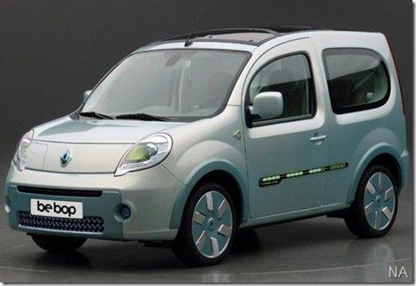 Renault terá três carros elétricos no salão de Frankfurt