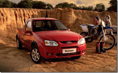 Ford Courier ganha nova cara na África do Sul