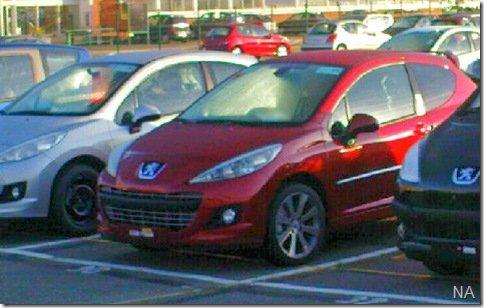 Peugeot 207 reestlizado é mais uma vez flagrado na europa