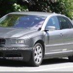 Novo VW Phaeton é flagrado em testes