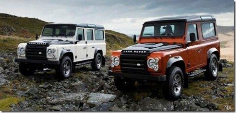 Land Rover Defender ganha duas edições especiais na Europa