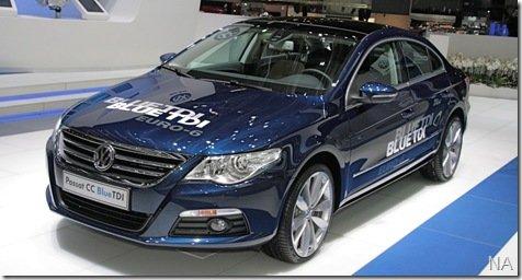 Volkswagen lança Passat CC BlueTDi na Europa