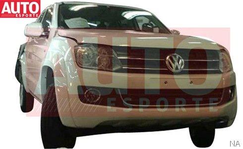 VW Amarok é flagrada novamente sem disfarces