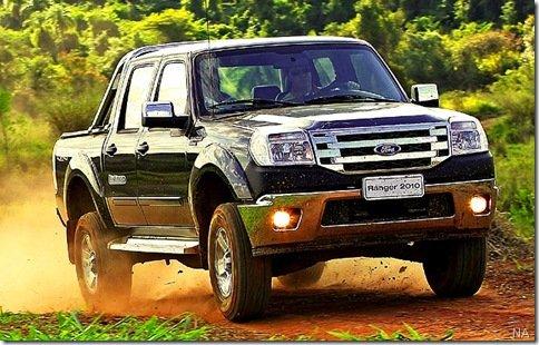Ranger 2010 reestilizada será apresentada no dia 31 desse mês