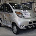 Tata Nano é aprovado em crash test europeu