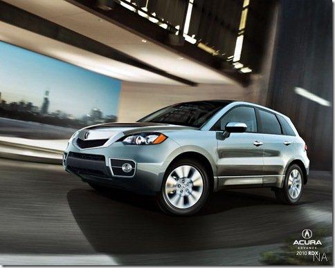 Vazam imagens do Acura RDX 2010