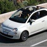 Fiat 500 Cabrio terá versão Abarth