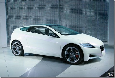 Honda confirma que irá lançar o protótipo CR-Z