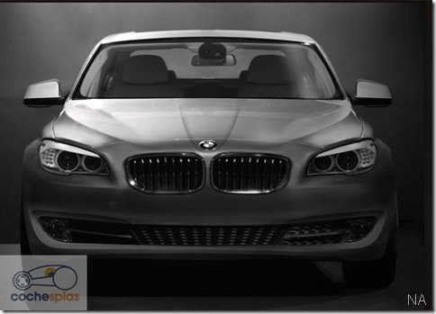 Possível flagra do novo BMW Série 5