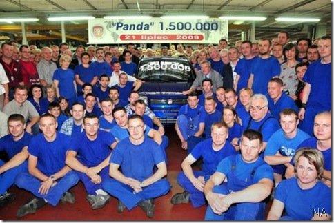 Fiat Panda atinge 1.500.000 unidades produzidas
