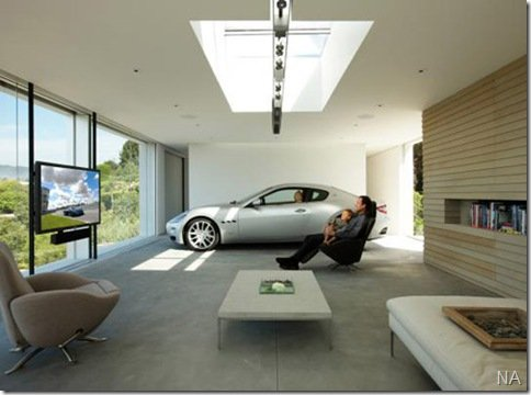 Maserati elegeu por concurso as melhores garagens para seus carros